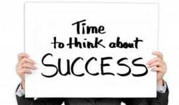 It's time to think about success!