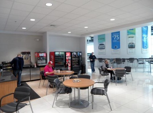 ... The Waiting Area At Larry H. Miller Honda Murray, Located At Murray, ...