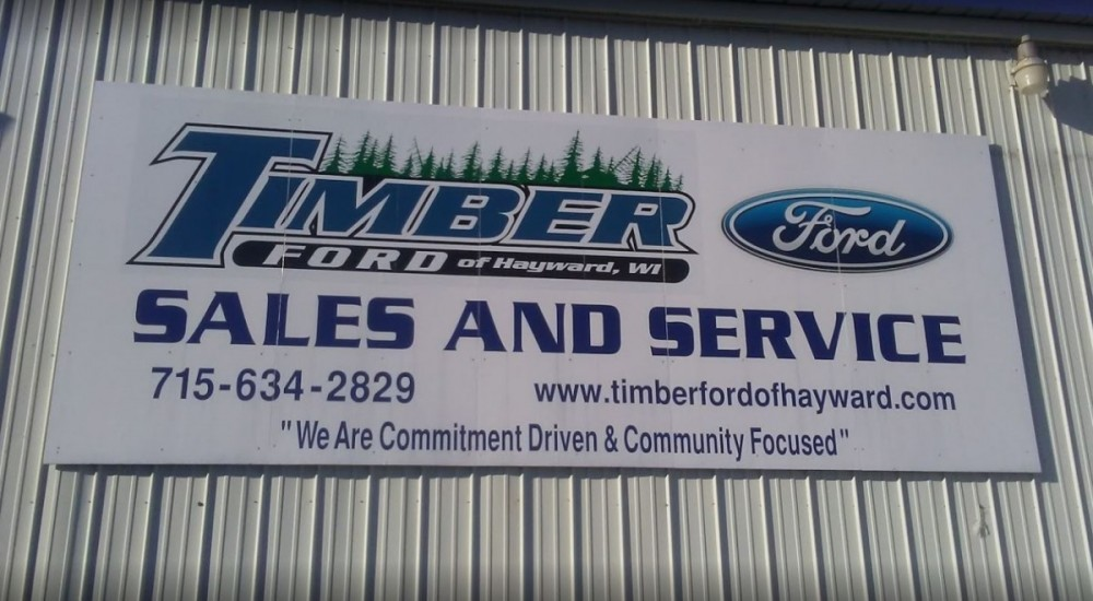 Timber Ford Of Hayward Auto Repair Service Center is located in the postal area of 54843 in WI. Stop by our auto repair service center today to get your car serviced!