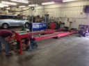 We are a high volume, high quality, automotive repair service facility located at Tilton, IL, 61833.