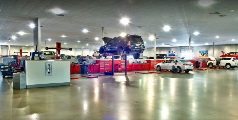 We Are A State Of The Art Service Center And Waiting To Serve Piercey Toyota