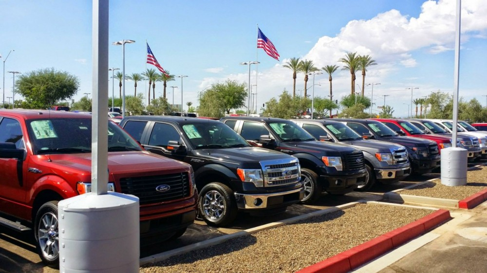 Surprise Ford Auto Repair Service Is Located In The Postal Area Of 85388 Az
